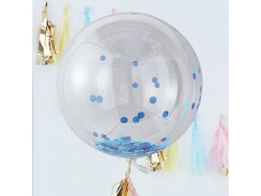 pm 390 giant blue confetti orb balloon v2 min