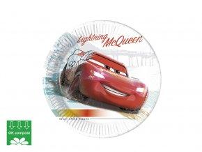 eng pl Paper plates Cars 20 cm 8 pcs 45057 3