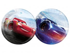 eng pl Paper plates Cars The Legend of The Track 23 cm 8 pcs 31674 1