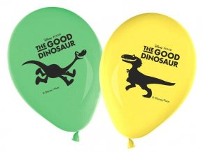 eng pl Good Dinosaur Latex Balloons 28 cm 8 pcs 29387 1