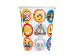 eng pl Emoji Party Cups 266 ml 8 pcs 24467 2