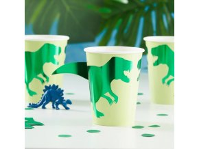 rr 304 dinosaur cups with 3d tails