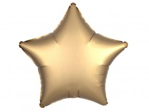 eng pl Gold Star Foil Balloon 43 cm 1 pcs 32265 2