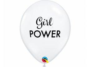 Latexové balóny  girl power 5ks v baleni