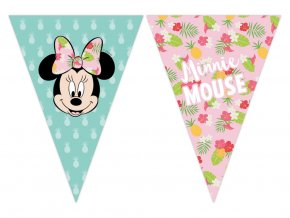 eng pl Triangle flag banner Minnie Tropical 230 cm 1 pc 31649 1