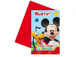 eng pl Invitation card envelope Playful Mickey 1 pc 12549 2