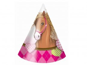 eng pl Horses Party Hats 6 pcs 30437 3