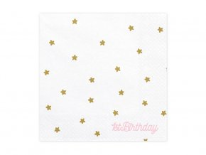 eng pl 1st birthday 3 layers white napkins 33 cm 20 pcs 31376 1