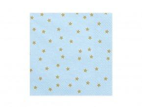 eng pl Napkins Stars blue 33 x 33 cm 20 pcs 31884 3