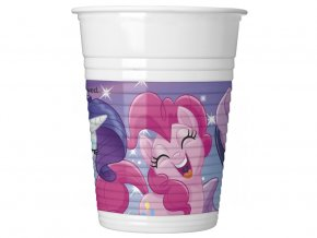 eng pl Plastic cups Pony Friends 200 ml 8 pcs 32087 2