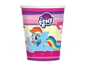eng pl Paper cups My Little Pony 250ml 8 pcs 30710 1