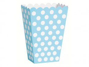 eng pl Powder blue dots treat boxes 8 pcs 21489 2