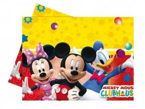 eng pl Plastic tablecover Playful Mickey 120 x 180 cm 1 pc 9147 2