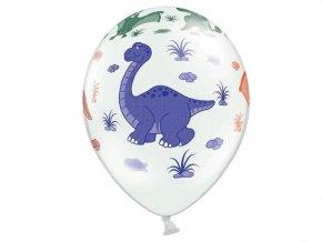 eng pl Latex Balloons Dinosaurs 30 cm 5 szt 26546 3 (1)