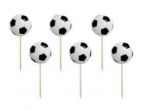 eng pl Partypicks Football 7 cm 6 pcs 39027 1