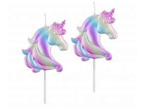 eng pl Unicorn Cake Decorations 5 pcs 30201 1