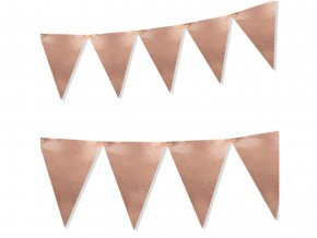 eng pl Rose Gold flag banner 160 cm 1 pc 50473 1