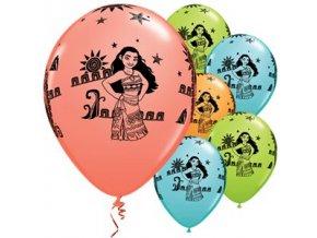 Balóny Moana & Maui 5ks v balení