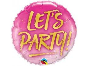 Balón Lets party 46cm