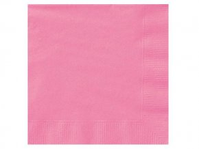 eng pl Hot Pink Lunch Napkins 33 cm 20 pcs 25539 2