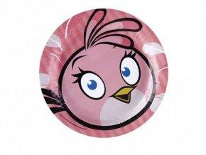 Tanier Angry Birds ružový 18cm, 8ks v balení