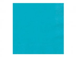 eng pl Caribbean Teal Lunch Napkins 33 cm 20 pcs 25667 1