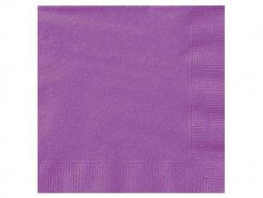 eng pl Pretty Purple Beverage Napkins 25 cm 20 pcs 25585 2