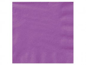 eng pl Pretty Purple Beverage Napkins 25 cm 20 pcs 25585 2