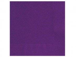eng pl Deep Purple Beverage Napkins 25 cm 20 pcs 25398 1