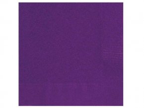 eng pl Deep Purple Beverage Napkins 25 cm 20 pcs 25398 1
