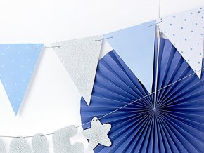 eng pl Blue 1st birthday flag banner 1 3 m 1 pc 33730 3