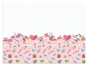 eng pl Plastic tablecover Princess Dare To Dream 120 x 180 cm 1 pc 31655 1