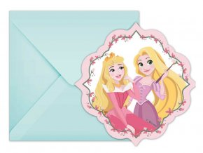 eng pl Invitation card envelope Princess Dare To Dream 1 pc 31657 1