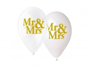 eng pl Clear Latex Balloons 33 cm 5 pcs 33444 2