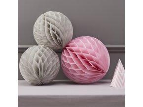 cv 232 honeycomb balls grey pinkzoom 1