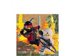 Servítky Ninjago 16ks