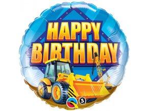 Balón happy Birthday Bager 46cm