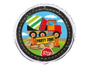 Balón Party Zone Stavitelia 45,7cm