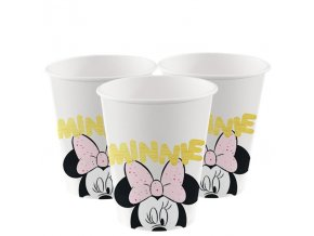 pohár Minnie Mouse 8ks