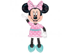Balón Minnie Mouse airwalkers