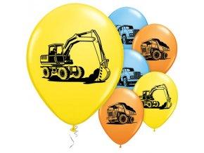 Balóny stavitelia 5ks v balení