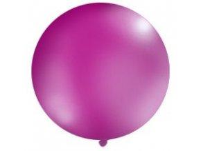 Jumbo balón latexový 1m purpurový