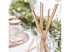 bb 300 rose gold paper straws min
