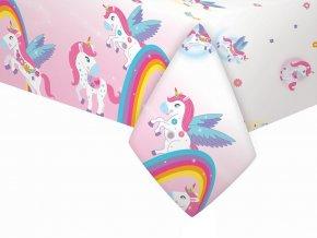 eng pl Tablecover Rainbow Unicorn 132 x 182 cm 1 pc 32560 1