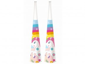 eng pl Rainbow Unicorn Horns 6 pcs 32566 2
