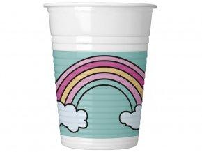 eng pl Magic Party Unicorn Cups 200 ml 8 pcs 31832 1