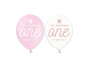 eng pl 1st Birthday One Party Balloon 30 cm 5 pcs 31626 2