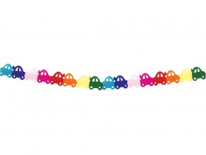 eng pl Big Paper Garland Cars 1 pc 32330 1