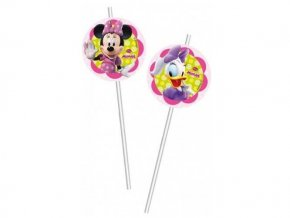 eng pl Drinking straws Minnie Bow tique 6 pcs 9117 2