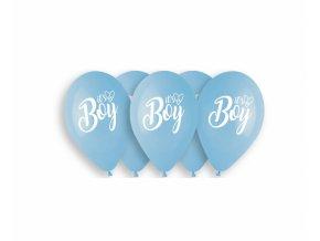 Latexové balóny Its a Boy 5ks v balení